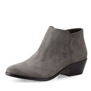 Sam Edelman Petty Suede Ankle Boot Slate Gray 9.5